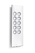 FLOW.1010 White powered speakers w/Control HUB II - Open Box